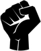 raised fists resistance icon